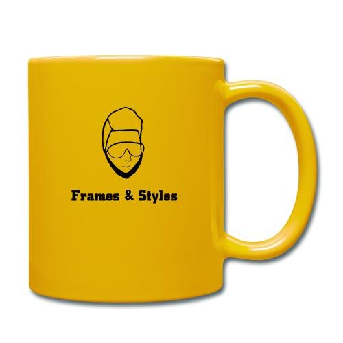 Frames and Styles frameface - Tasse einfarbig