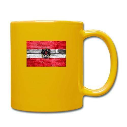 Austria Holz - Tasse einfarbig