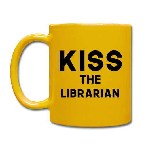 Kiss The Librarian - Buffy Valentine - Tazza monocolore