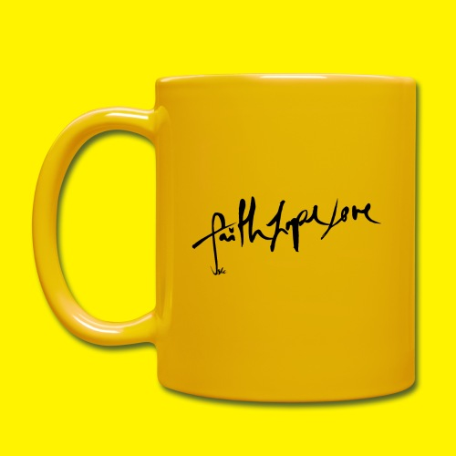 Faith Hope Love - Full Colour Mug