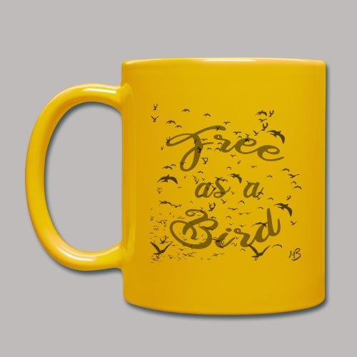 free as a bird | free as a bird - Full Colour Mug