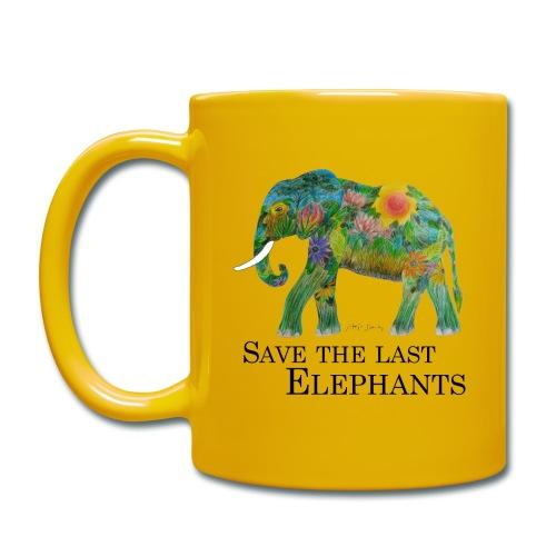 Save The Last Elephants - Tasse einfarbig