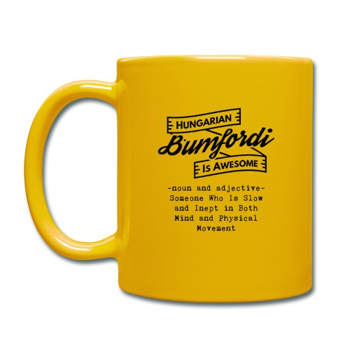 Bumfordi - Hungarian is Awesome (black fonts) - Full Colour Mug