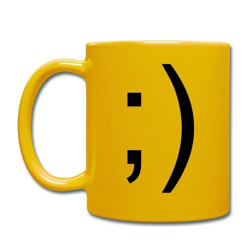 Wink Wink Smile - Full Colour Mug