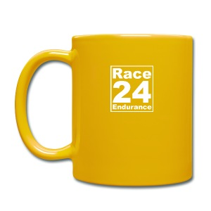 Race24 Logo - White - Full Colour Mug