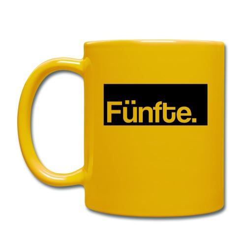 Fünfte. Boxed - Tasse einfarbig