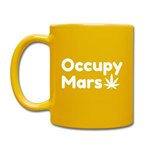 Occupy Mars Weed Edition - Full Colour Mug