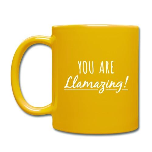 You are Llamazing - Ensfarvet krus