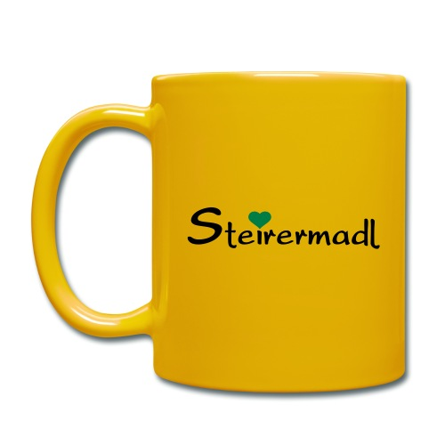 Steirermadl - Tasse einfarbig
