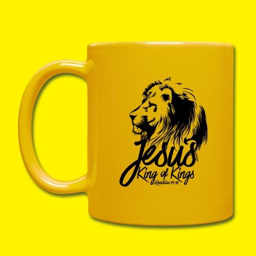JESUS - KING OF KINGS - Revelations 19:16 - LION - Full Colour Mug