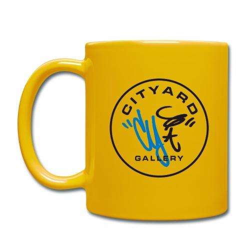 cityard org logo - Ensfarvet krus