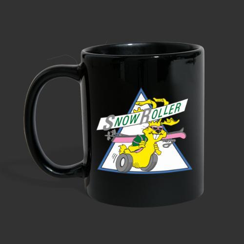 SnowRoller logo - Enfärgad mugg