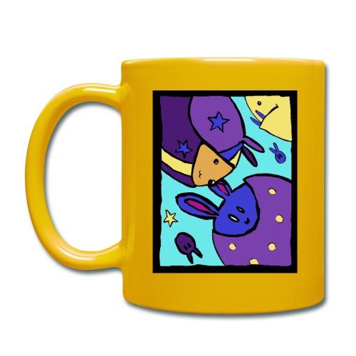 coulour bunnies (3) - Full Colour Mug