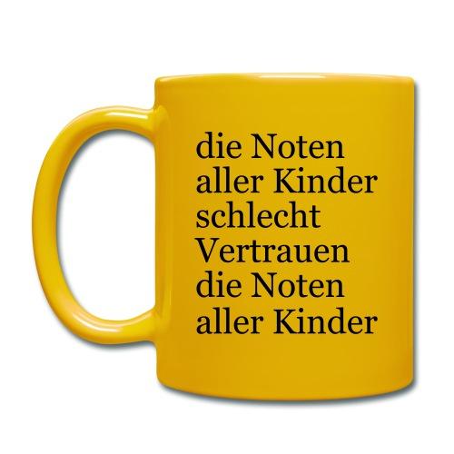Frau Müller muss weg - Tasse einfarbig