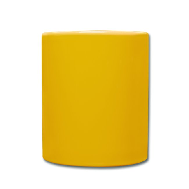 Vorschau: I bin daun moi weg - Tasse einfarbig