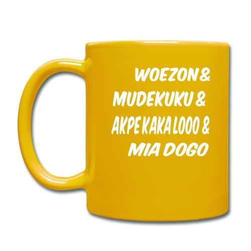 WOEZON MDEKUKU AKPE MIA DOGO - Mug uni