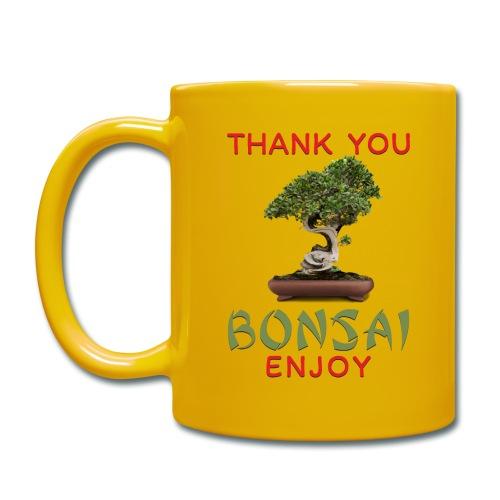 Dziękuję Ci Bonsai - Kubek jednokolorowy