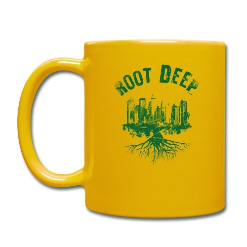 Root deep Urban grün - Tasse einfarbig