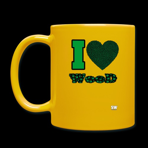 I Love weed - Mug uni