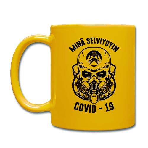COVID-19, minä selviydyin - Yksivärinen muki
