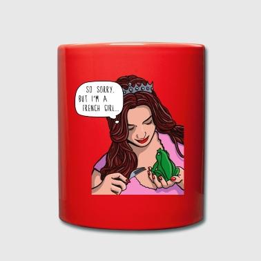 Froschkoenig Prinzessin F - Tasse einfarbig