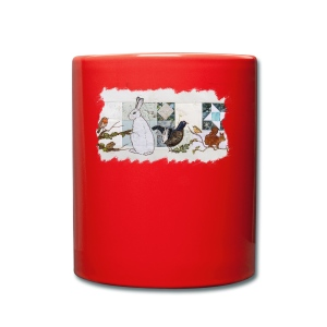 winter scene - Full Colour Mug