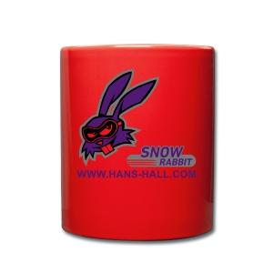 SnowRabbit - Tasse einfarbig