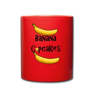 Banana Cupcake - Full Colour Mug