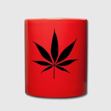 plante idée cadeau marijuana chanvre juridique - Tasse en couleur
