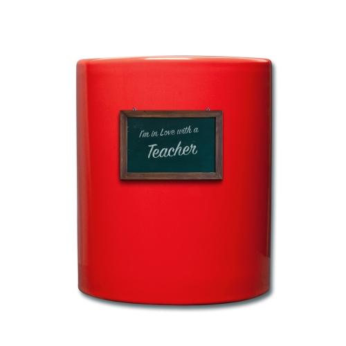 teacher valentine - Full Colour Mug