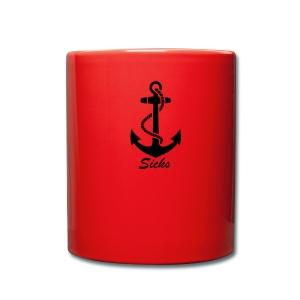 Sicks Logo Design - Tasse einfarbig