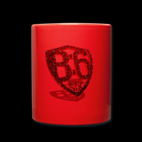 BRAVOSIX 3D Redpoint - Tasse einfarbig