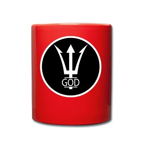 INVERTED GOD LOGO BASIC - Tasse einfarbig