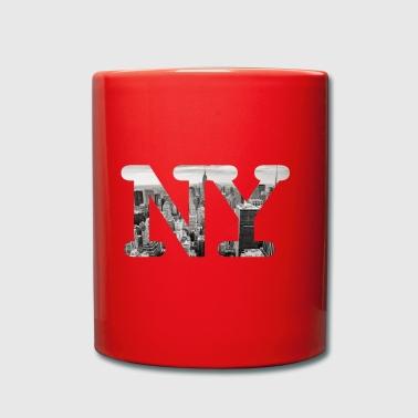 New York City Panorama - Tazza monocolore