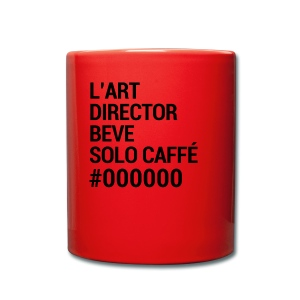 Tazza dell'art director - Tazza monocolore