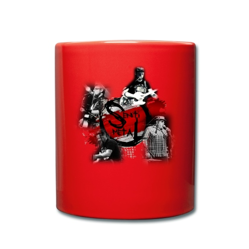 Senti-Metal Shirtdesign - Tasse einfarbig