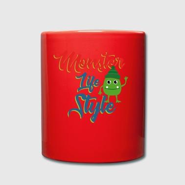 le style Monster - Tasse en couleur