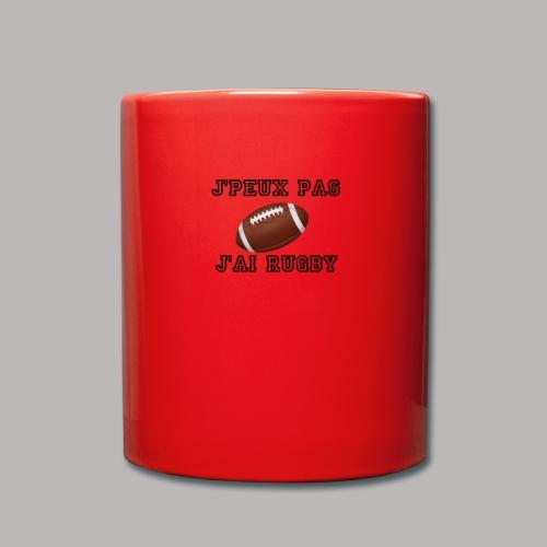 rugby - Mug uni