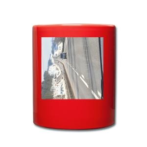 På veien - Ensfarget kopp