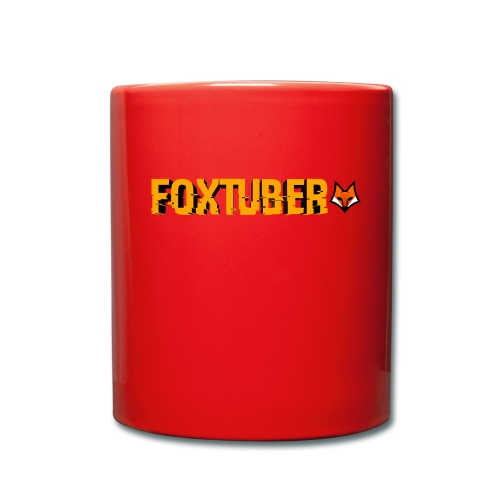 foxtuber naam + logo - Mok uni