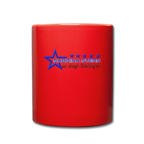 SABRINA STERN LOGO - Tasse einfarbig