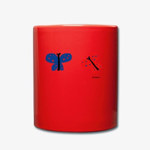 Perhoset - Yksivärinen muki