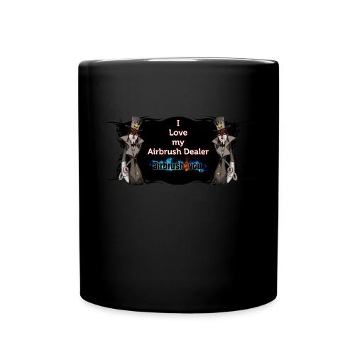 Airbrush Dealer - Tasse einfarbig