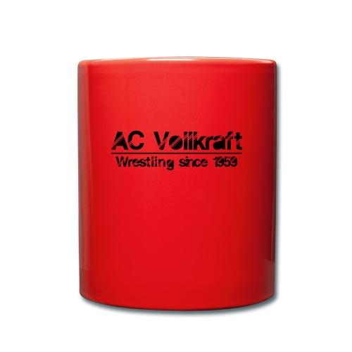 Ac Vollkraft - Wrestling since 1959 - Tasse einfarbig