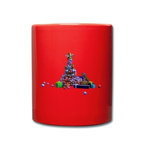 Sapin de Noël et cadeaux - Mug uni