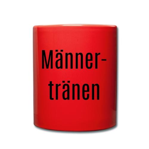 maennertraenen - Tasse einfarbig
