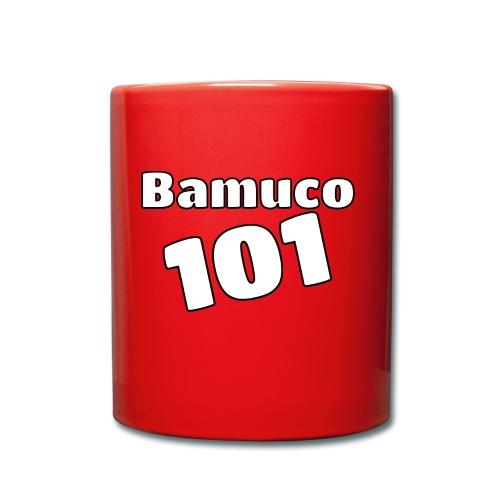 Bamuco101 Big White Logo - Yksivärinen muki