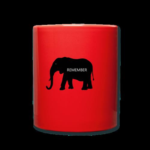 Elephant Collection - Ensfarget kopp