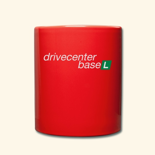 drive center logo - Tasse einfarbig