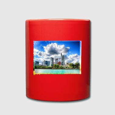 Frankfurt skyline - Full Colour Mug
